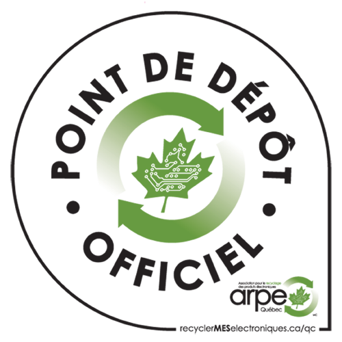 Point de dépot officiel - ARPE Québec